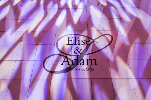 Custom Wedding Dance Floor Decal