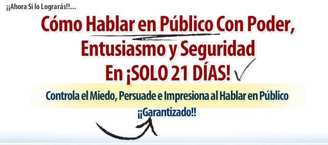 """""""Habla En Público Con Poder"""""""