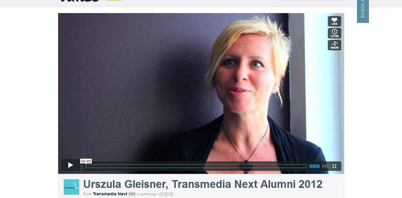 Transmedia Next London