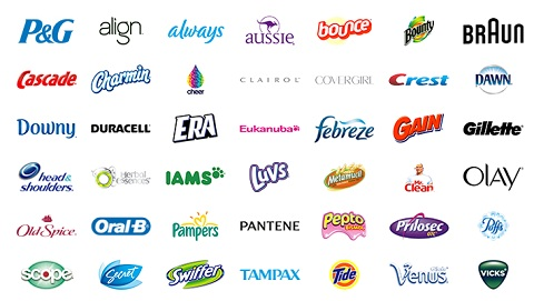 P&G brands