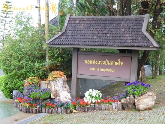 Hall of Inspiration at Doi Tung Royal Villa