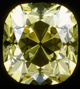 light yellow debeers diamond de beers