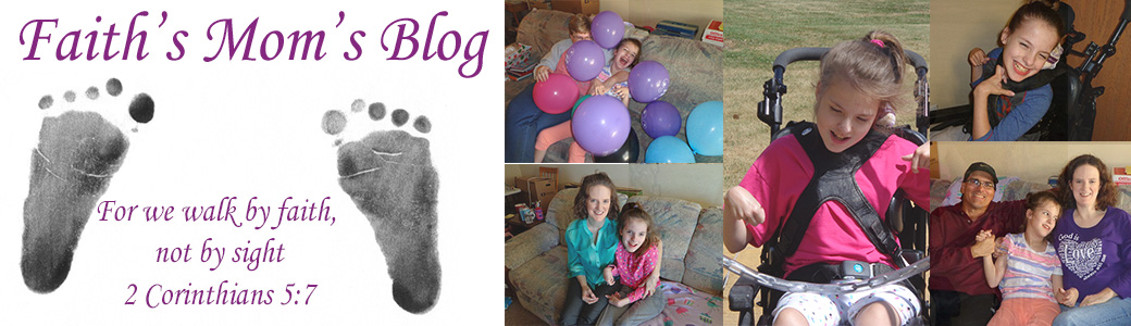 Faith's Mom's Blog