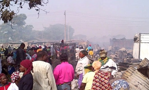 Fire Kills Two, Destroys 700 Make-shift Shops In Kaduna