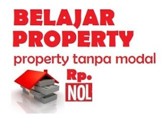 belajar properti tanpa modal