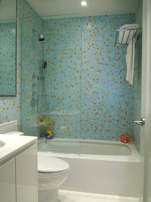 Creative juice what were they thinking thursday for Bathroom design ideas mosaic tiles