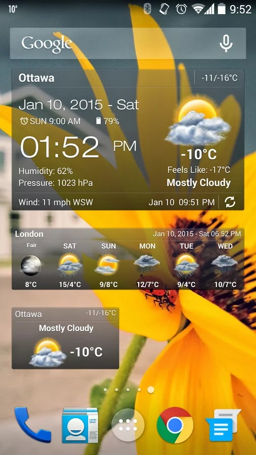 Weather & Clock Widget Ad Free v2.5.3