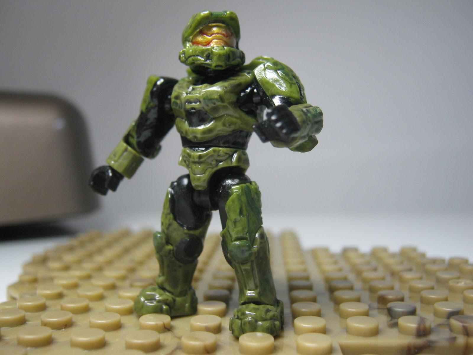 Mega Bloks Customs Custom Halo Figures