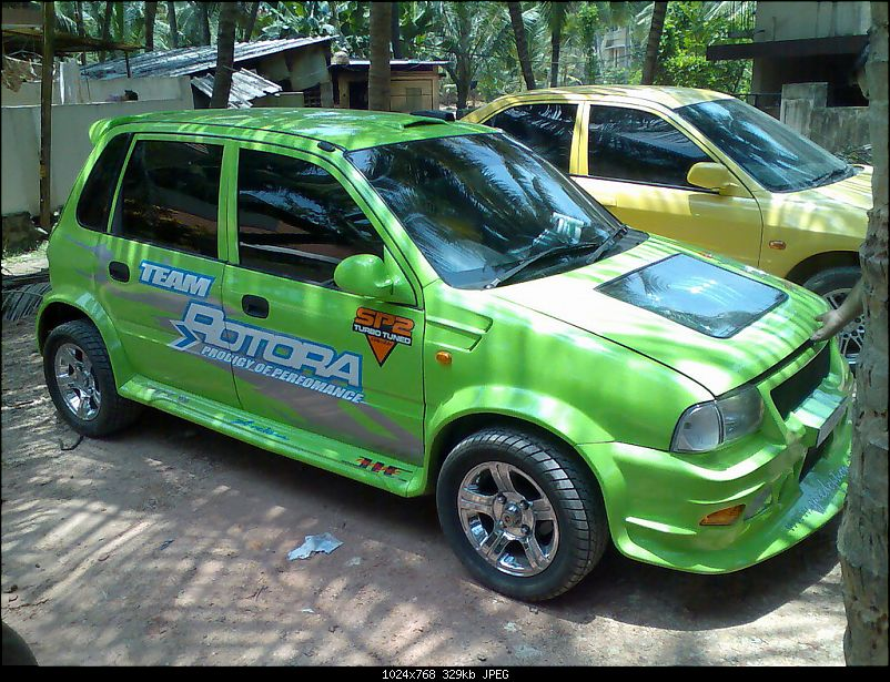 car: modified maruti cars
