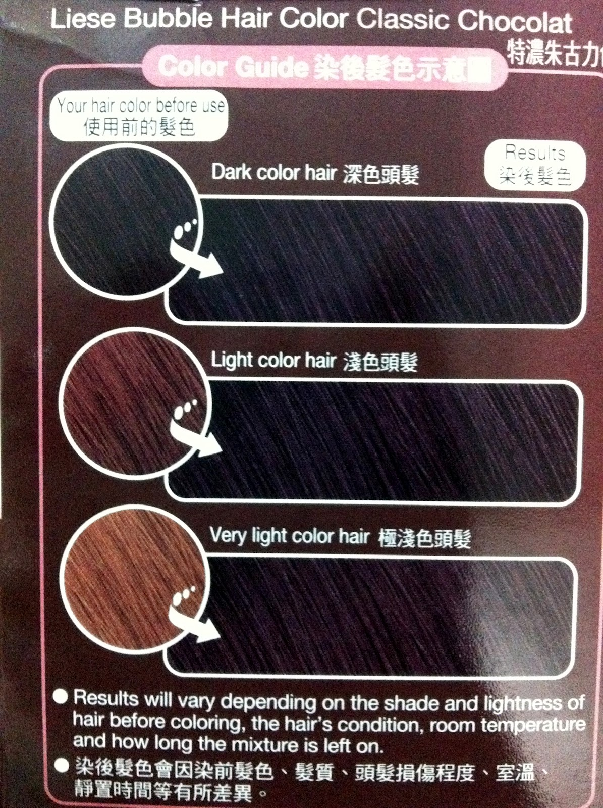 Liese Bubble Hair Dye Classic Chocolate