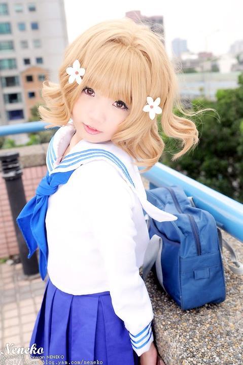 CosRain.Com Neneko's COSPLAY - Hanasaku Iroha