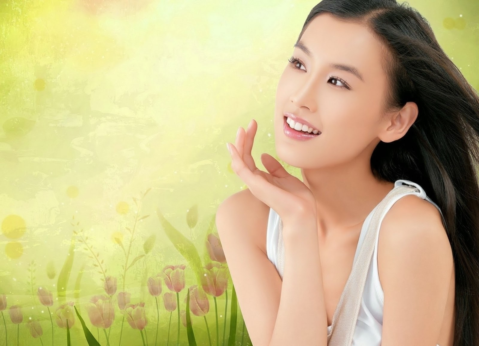 Eva Huang HD Wallpaper Free | Kumpulan Aplikasi Android