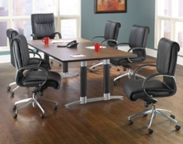 OFM Large Mesh Base Conference Table