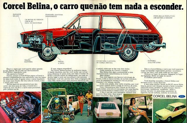 história anos 70; propaganda década de 70; Brazilian advertising cars in the 70s; reclame anos 70; Oswaldo Hernandez;