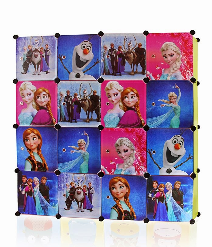 ❤ FROZEN 16 CUBE, 12 CUBE AND 9 CUBE DIY WARDROBE ❤ NEW ARRIVAL 28/11/2014