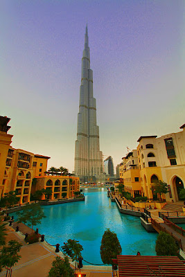 Burj Khalifa (formerly Burj Dubai), Dubai, The United Arab Emirates ...