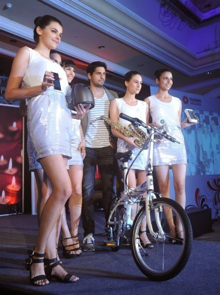 Sidharth Malhotra launches 'Taiwan Excellence 2014' campaign