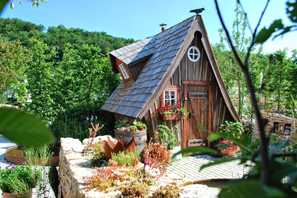 Hexenhäuschen Gartenhaus meiselbach mobilheime das märchenhafte holzhaus