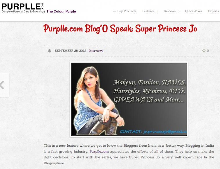 Featured In Purplle.com E magazine