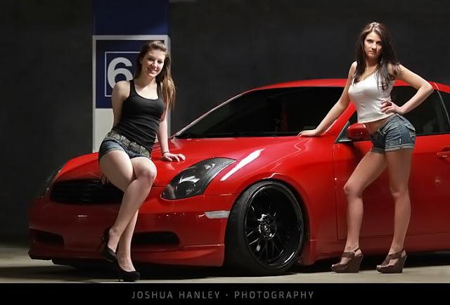 Infiniti G35, zdjęcia, panny i samochody