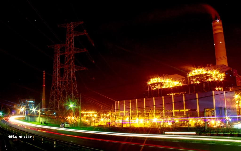 Night Shoot PLTU Paiton, Gemerlap Paiton Probolinggo