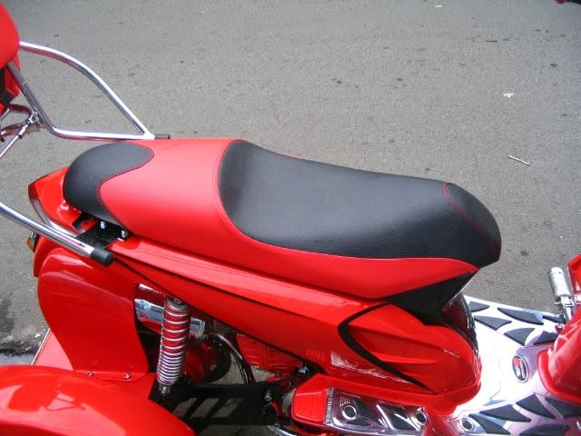 Jok Honda Beat Warna Merah