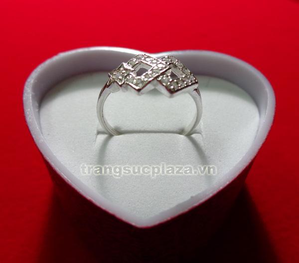 Nhẫn nữ bằng bạc NN105