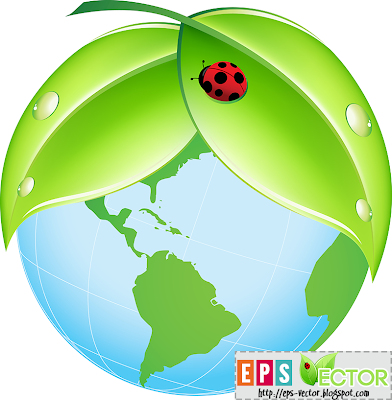 [Vector] - Green Earth Icon