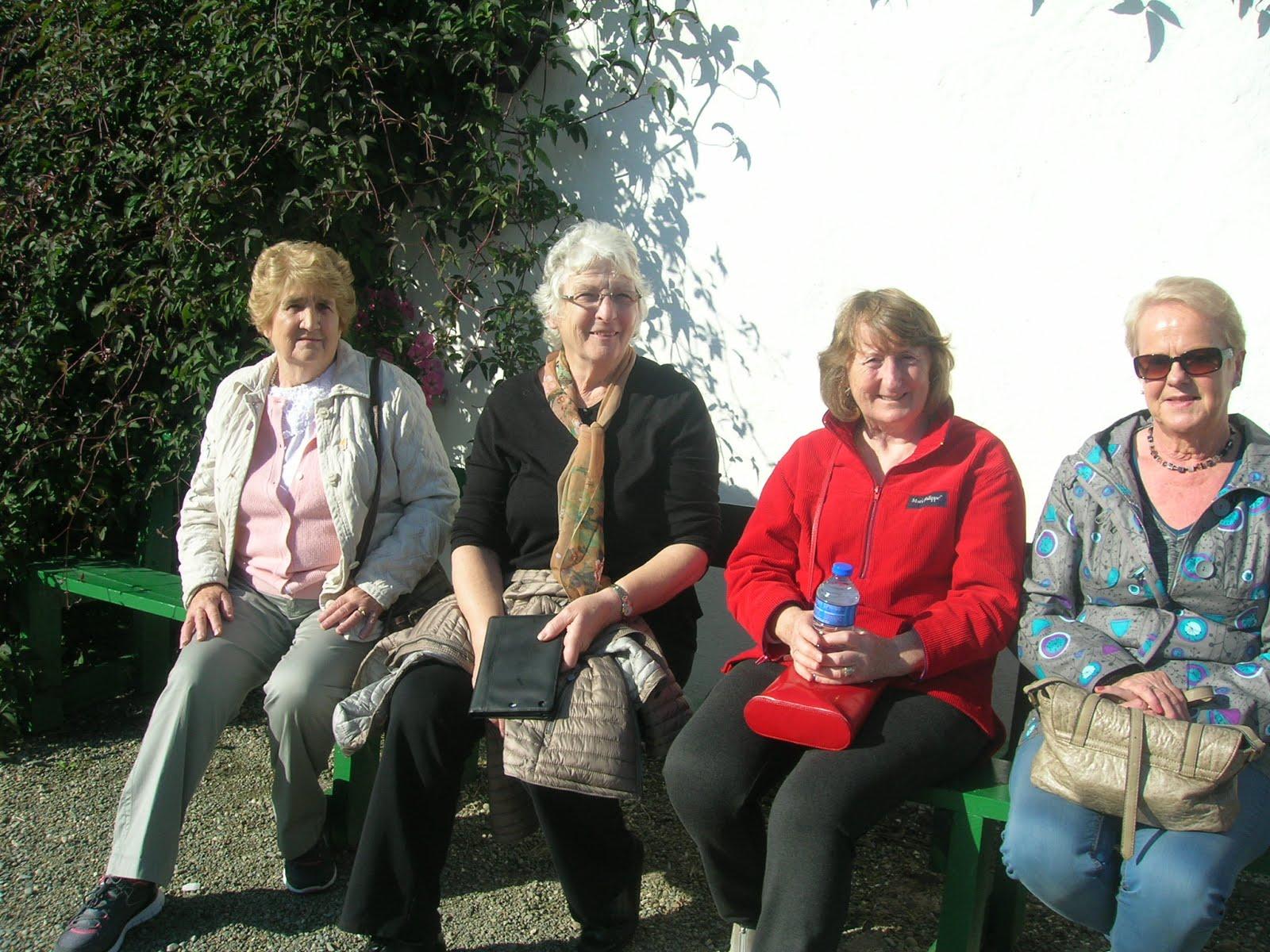 Maray O Holleran, Christina O Malley, Mary Howley and Valerie Gately