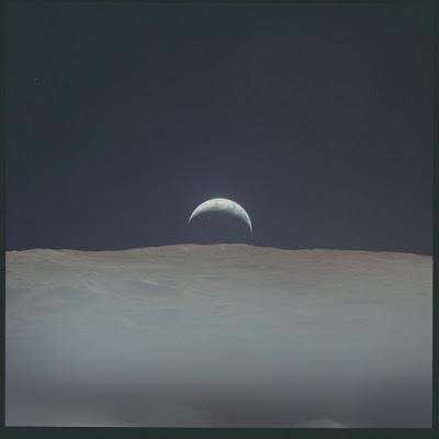 Todas as fotos do homem na Lua já estão disponíveis na Internet