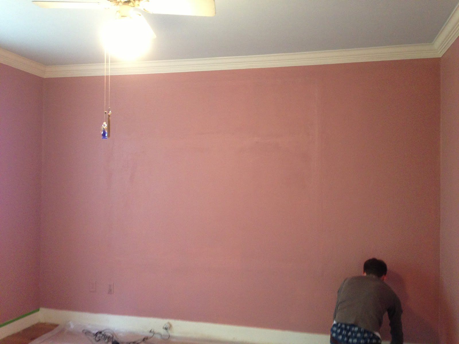 The Pink House Reno: Picking Paint Colors