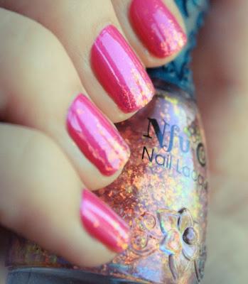 unas pintadas rosa