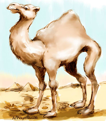 Dromedary is a cartoon by ArtMagenta