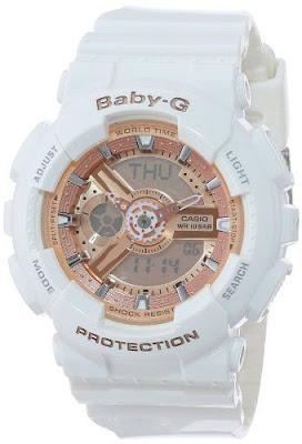 Desejo do dia - Relógio branco da Casio
