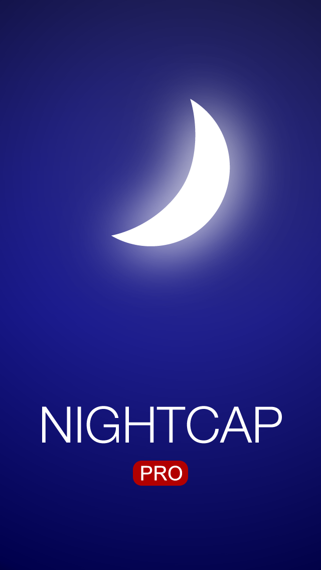 nightcap pro splash screen
