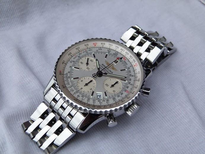Jam tangan for sale breitling navitimer a23322 john travolta sold for John travolta breitling
