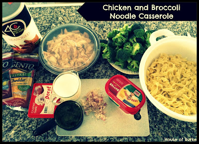 ... of Burke: UN-Tasty Tuesday: Chicken and Broccoli Noodle Casserole
