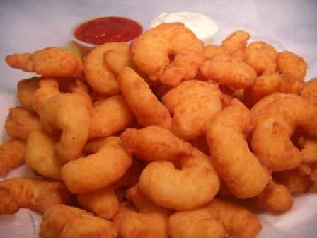 don't let me eat that: how dare you, popcorn shrimp?