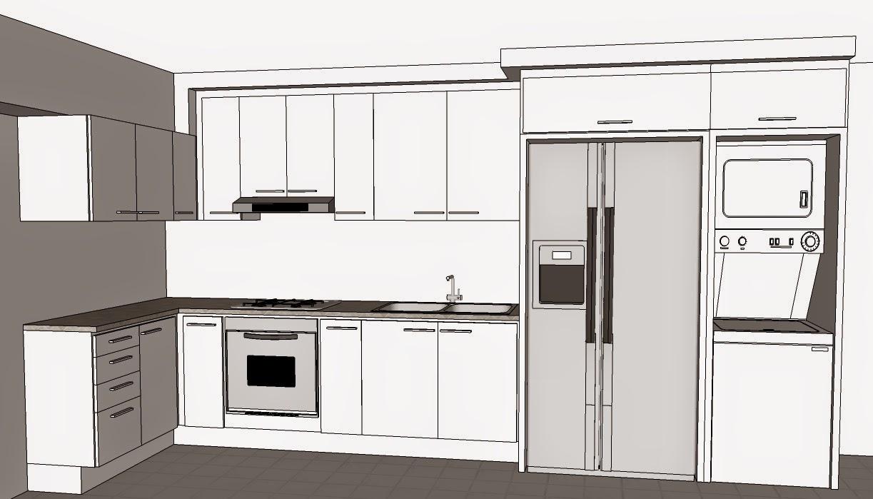 Gabema proyectos dise o algunos renders a partir de dibujos en sketchup - Dibujos de cocina ...