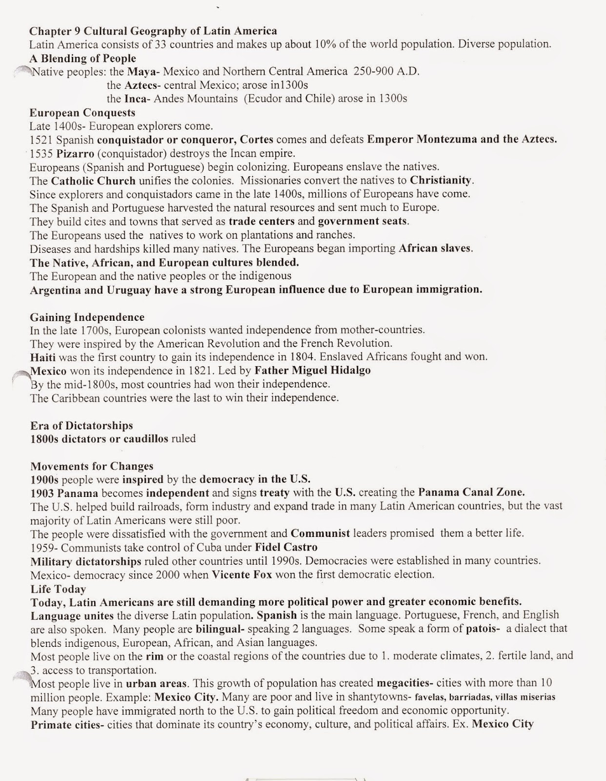 mr e s world geography page world geography chapter 9 the rh acewg blogspot com Suction Line Ch 9 Ch.9 KCAL