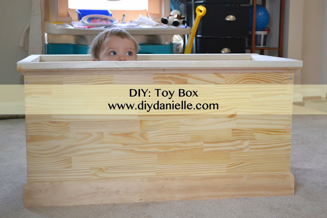 how to make your own toy box without a lid