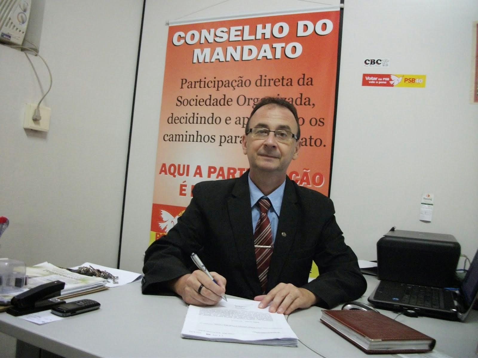 VEREADOR PEDE CRIAÇÃO DE FRENTE PARLAMENTAR