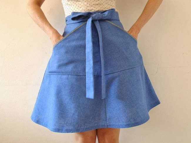 Miette skirt - easy sewing patterns for beginners - Tilly and the Buttons