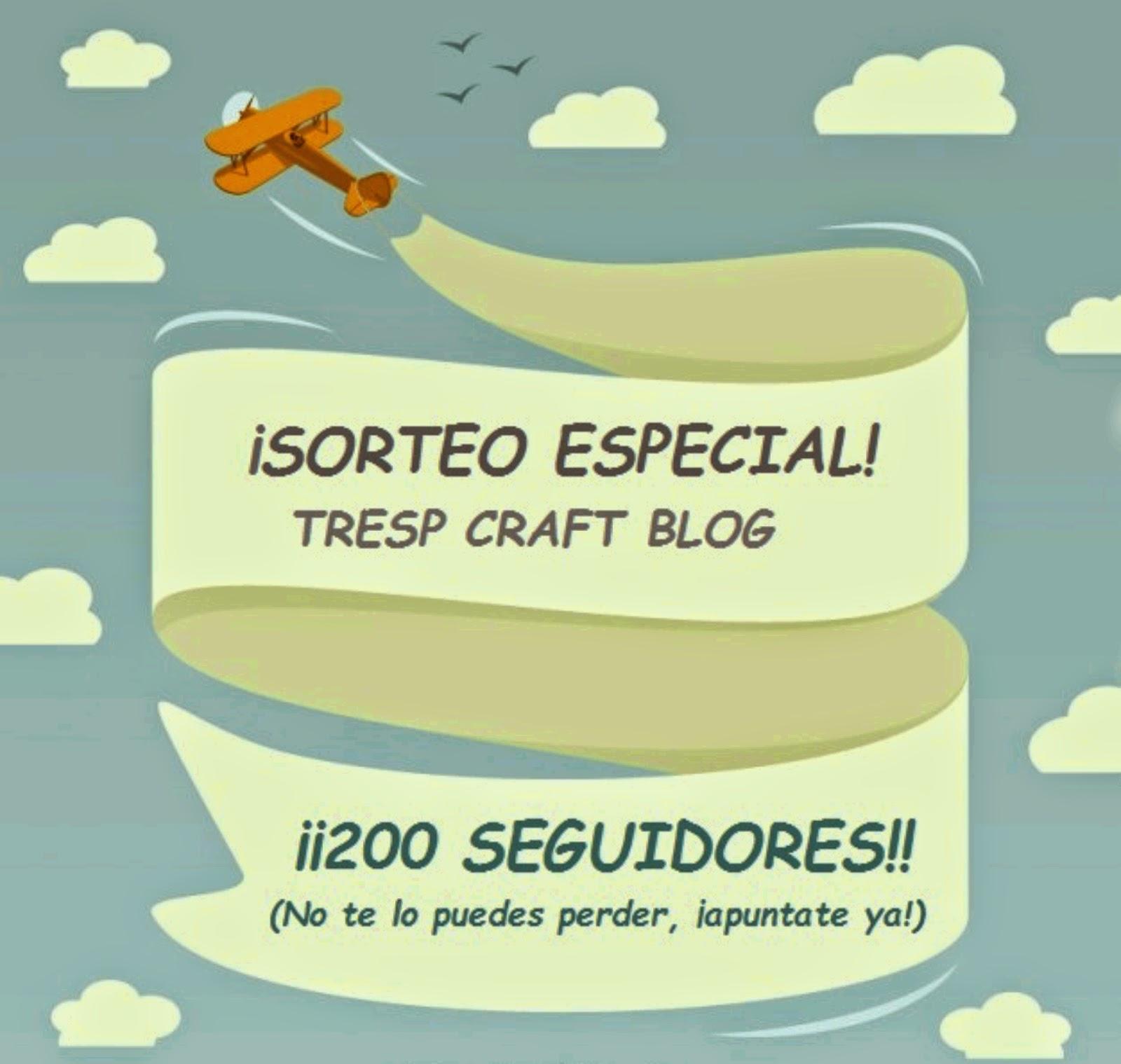 Sorteo TresP Craf Blog hasta el 9 de diciembre