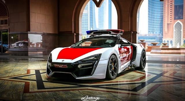 アブダビ警察が4億2700万円のライカン・ハイパースポーツをパトカーに採用!