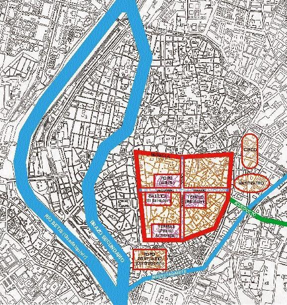 Plano Sevilla época romana