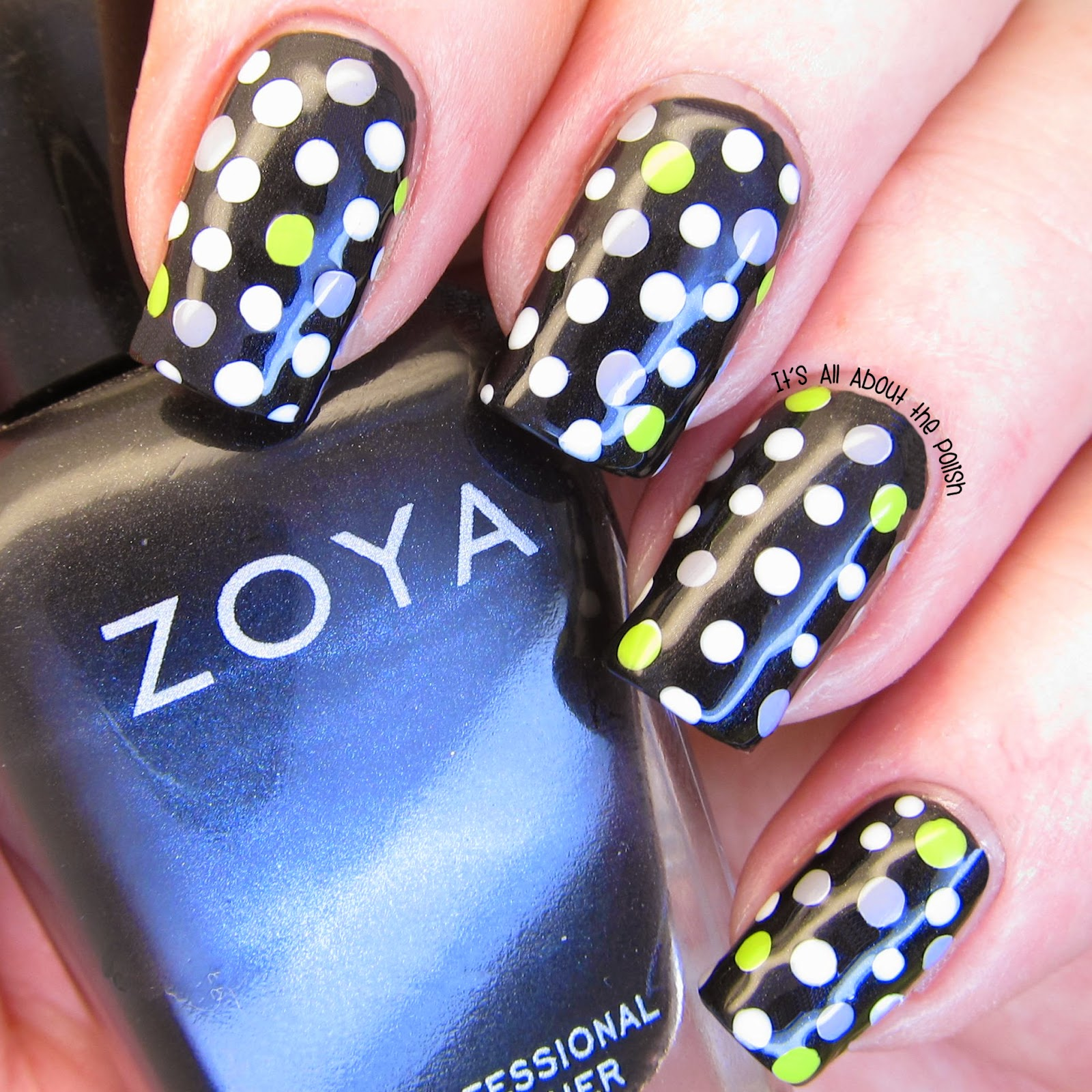 Its All About The Polish Fashion Dots Nail Design