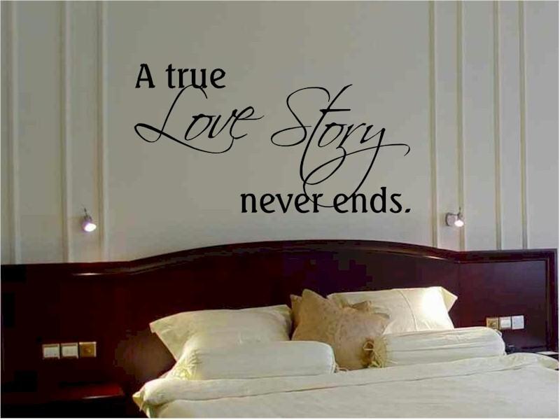 bedroom wall quote | home improvement | Pinterest | Best Bedroom ...