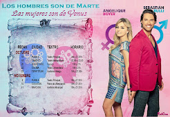 """Fechas """"Los Hombres de Marte,las Mujeres de Venus """""""