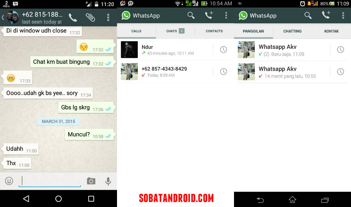 Cara WhatsApp Voice Call Aktif Update 30 Maret 2015